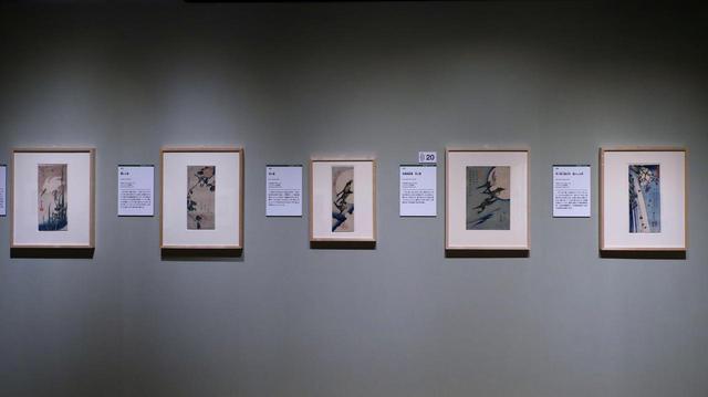 画像: 広重の花鳥画 いずれもミネアポリス美術館蔵
