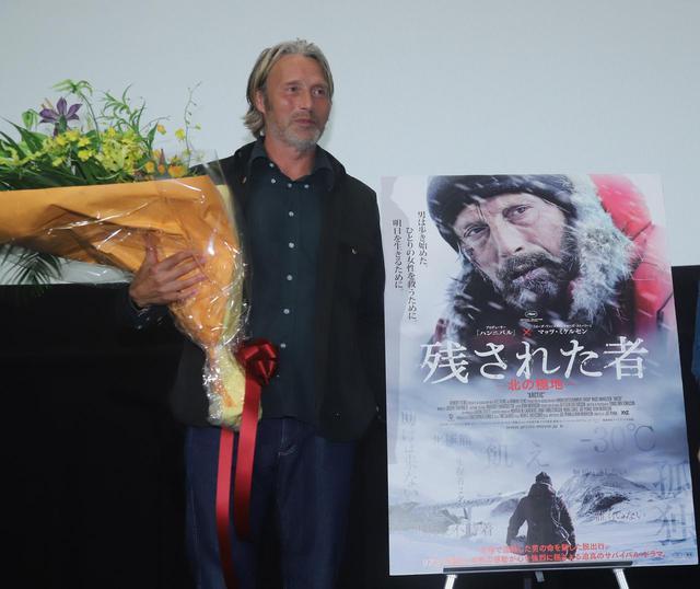"""画像4: 11月22日は、世界最高峰の""""いけおじ""""俳優マッツ・ミケルセンの誕生日!『残された者-北の極地-』PRのために来日した際のマッツの未公開写真を大放出!"""