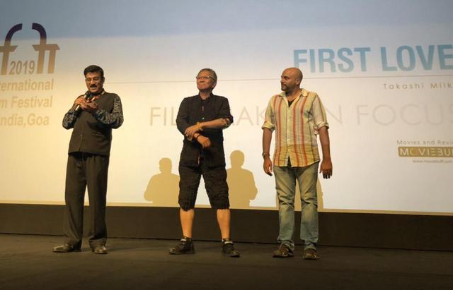 画像3: インド国際映画祭クロージング・セレモニーでは、10,000人を超える観客を前に三池監督が登壇!さらに映画『初恋』マカオ国際映画祭への出品も決定!