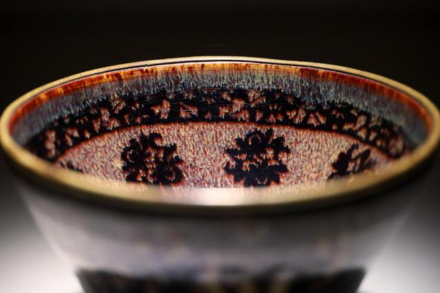 画像1: 国宝・玳玻散花文天目茶碗の宇宙