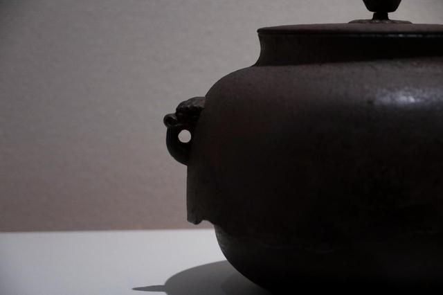 画像: 芦屋無地真形釜 鎌倉時代 相国寺蔵 重要文化財