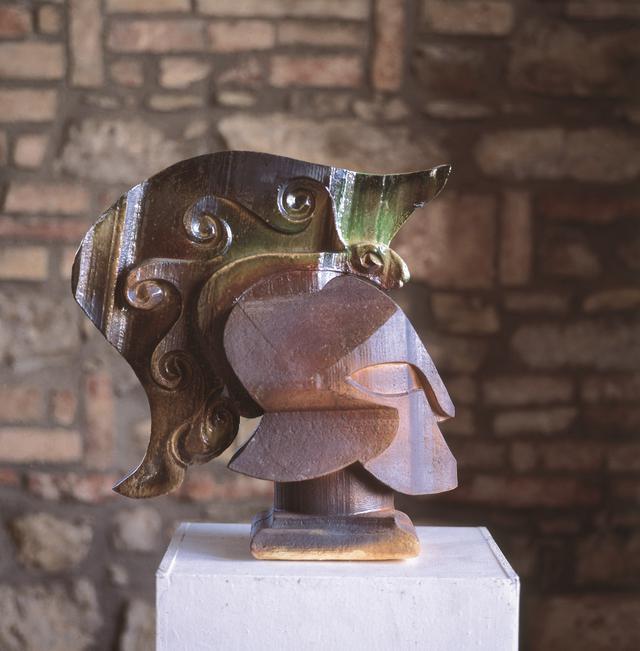 画像: ニーノ・カルーソ《エトルリア人》1985年