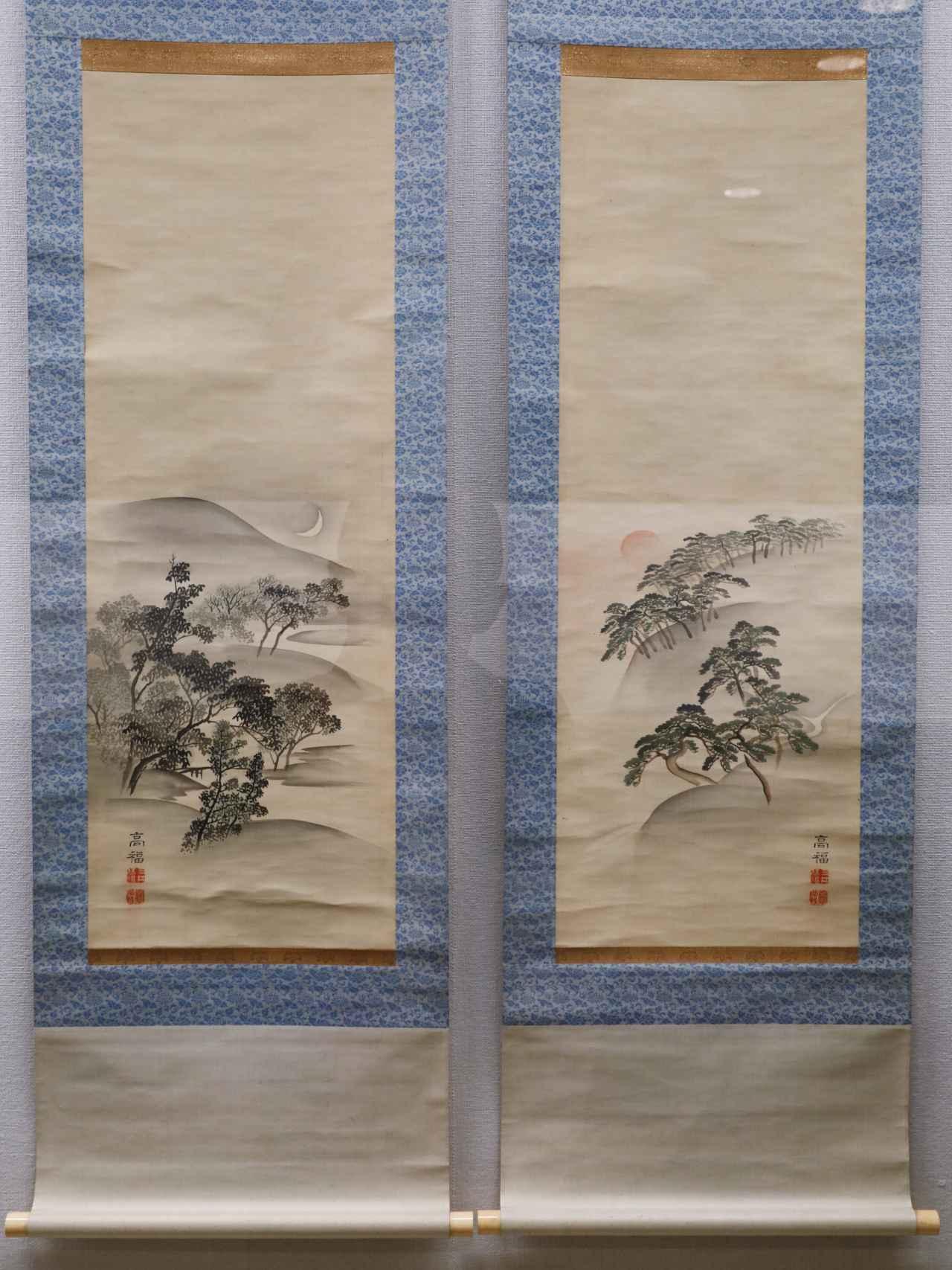 画像: 三井高福 「天保九如図」 明治時代19世紀 北三井家旧蔵