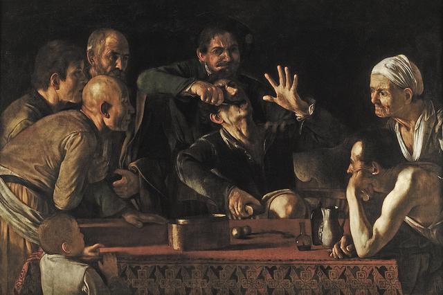 画像: 《歯を抜く人》1608~10年頃ウフィツィ美術館群パラティーナ美術館蔵 ©Gabinetto fotografico delle Gallerie degli Uffizi