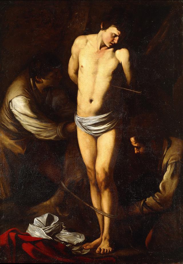 画像: 《聖セバスティアヌス》1606年 ローマ、個人蔵 ©Courtesyproprietario privato
