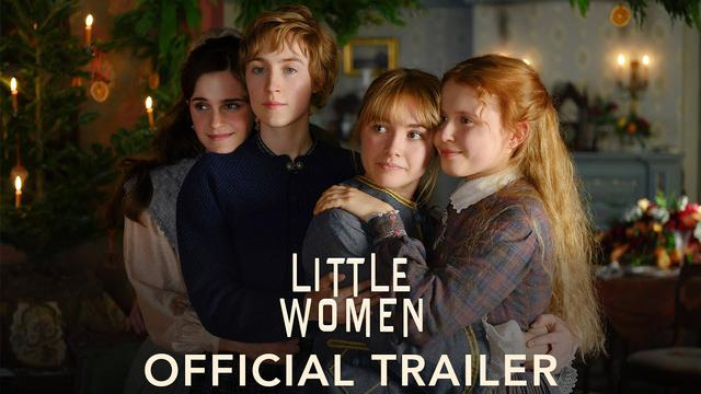 画像: LITTLE WOMEN - Official Trailer (HD) youtu.be