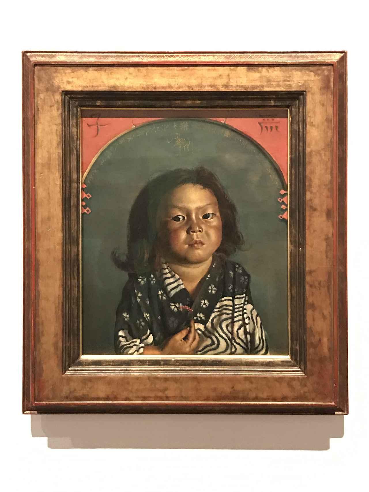画像: 岸田劉生《麗子肖像(麗子五歳之像)》 1918 東京国立近代美術館 photo©saitomoichi