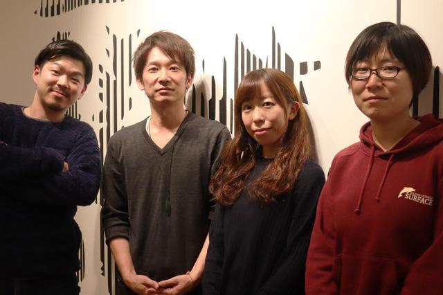 画像: 伊藤プロデューサーと、スタッフの皆さん