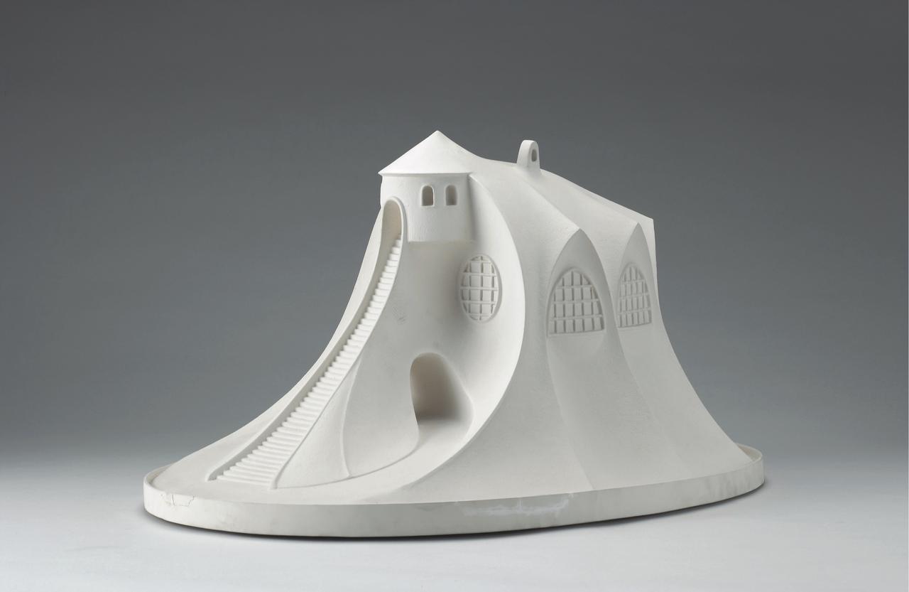 画像: 制作監修:瀧澤眞弓《瀧澤眞弓、山の家、模型》1986 年 個人蔵