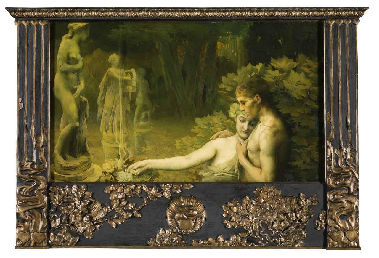 画像: ヴァサリ・ヤーノシュ 《黄金時代》 1898 年 油彩/カンヴァス ブダペスト、ハンガリー・ナショナル・ギャラリー  © Museum of Fine Arts,Budapest – Hungarian National Gallery, 2019