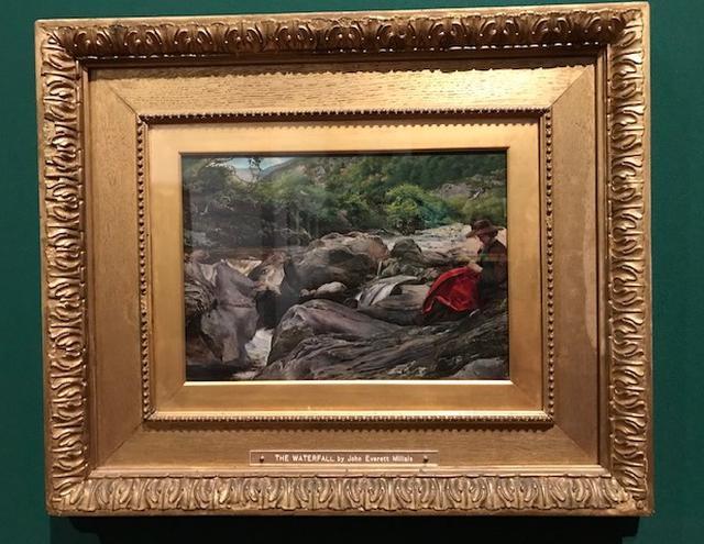 画像: ジョン・エヴァレット・ミレイ《滝》1853年、デラウェア美術館 © Delaware Art Museum, Samuel and Mary R. Bancroft Memorial, 1935 ©photo by cinefil