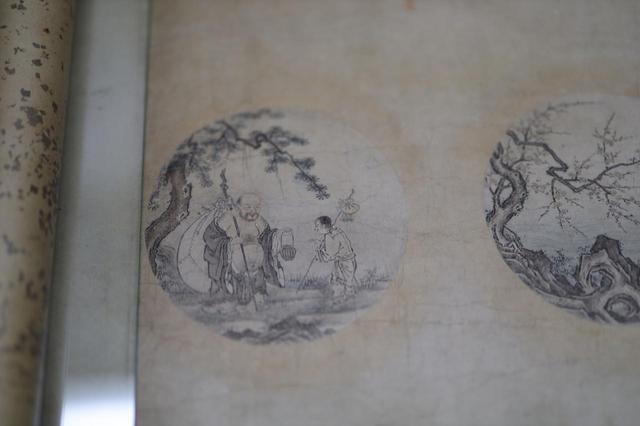 画像: 周文「十牛図」室町時代 相国寺蔵 最後の円相、悟りを得た牧童は布袋の姿になって世間に戻る