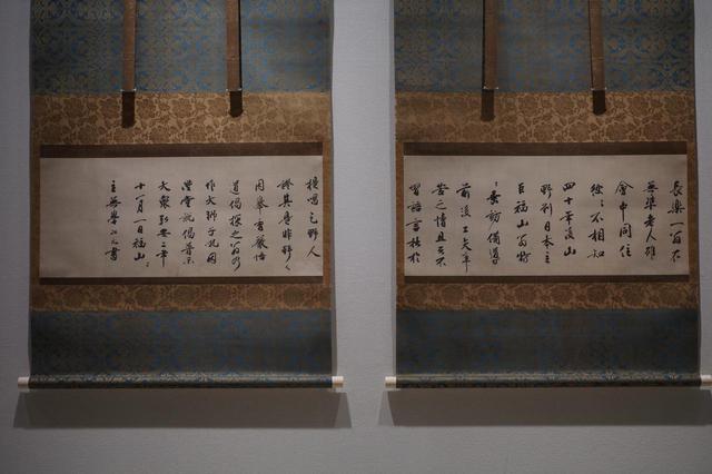 画像: 4幅のうち2幅ずつを I期・II期に分けて展示・II期展示の2幅