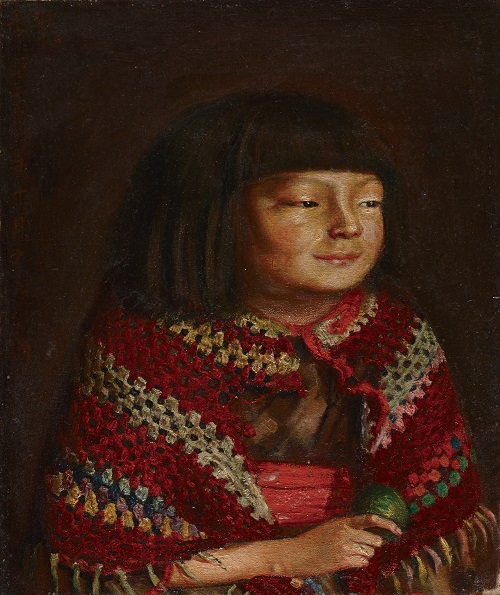 画像: 《麗子微笑》 重要文化財 1921 年 10 月 15 日 油彩/麻布 44.2×36.4cm 東京国立博物館 Image : TNM Image Archives ※ 展示期間: 1 月 8 日(水)~2 月 16 日(日)