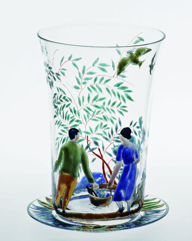 画像: シャビエ・ヌゲース、リカル・クレスポ《グラス》1929年|ガラス|バルセロナ・デザイン美術館 ©Barcelona Design Museum