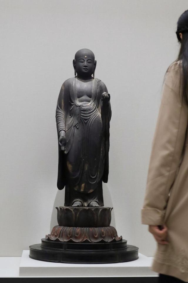 画像: 地蔵菩薩立像 平安時代10〜11世紀 奈良・大福寺蔵(奈良国立博物館寄託)重要文化財