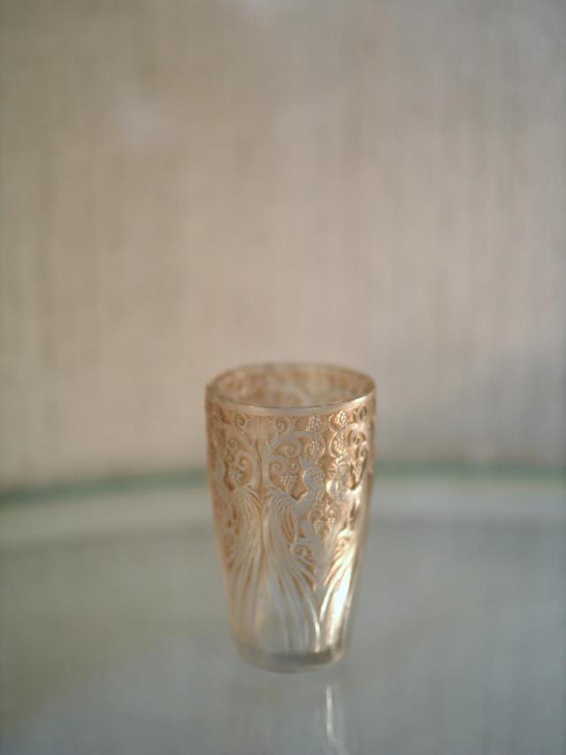 画像: ルネ・ラリック 花瓶「雄鶏とぶどう」 1928年 北澤美術館蔵