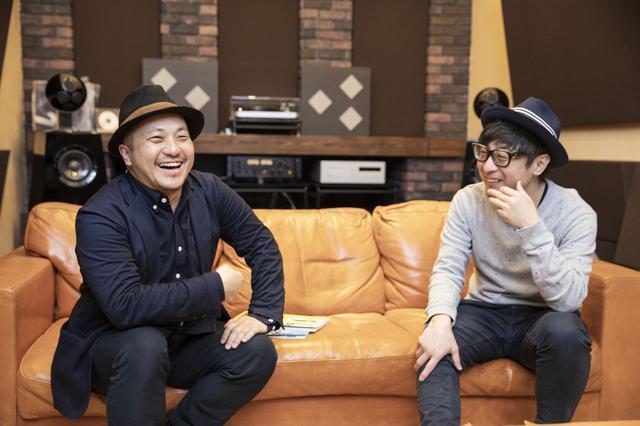 画像1: 左より白石和彌監督、市井昌秀監督