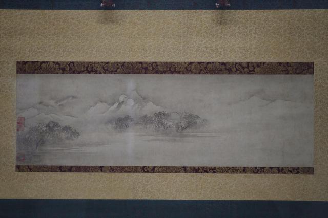 画像: 牧谿 瀟湘八景・江天暮雪図 中国・宋時代 鹿苑寺蔵