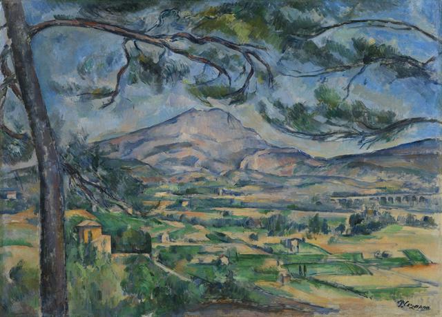 画像: ポール・セザンヌ 《大きな松のあるサント=ヴィクトワール山》 1887年頃 油彩、カンヴァス      コートールド美術館 © Courtauld Gallery (The Samuel Courtauld Trust)