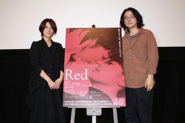 画像: 左より三島有紀子監督、岩井俊二監督