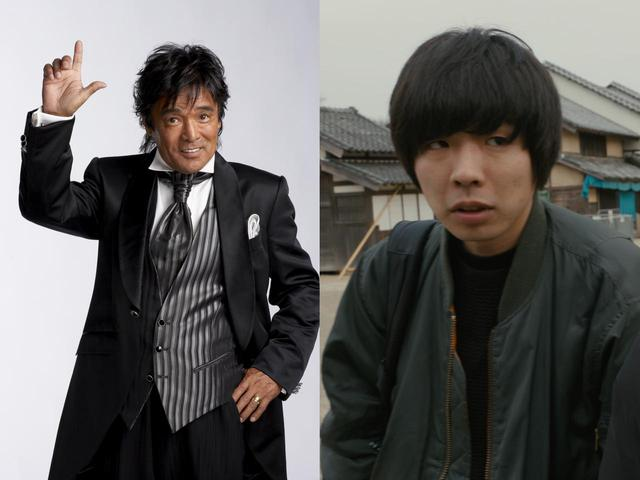 画像: (左)松崎しげる (右)吉田靖直(トリプルファイヤー)