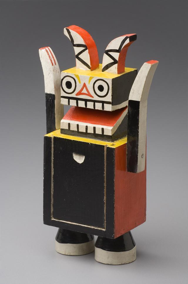 画像: ヴァーツラフ・シュパーラ 《小箱《悪魔》》 1921 年 チェコ国立プラハ工芸美術館蔵