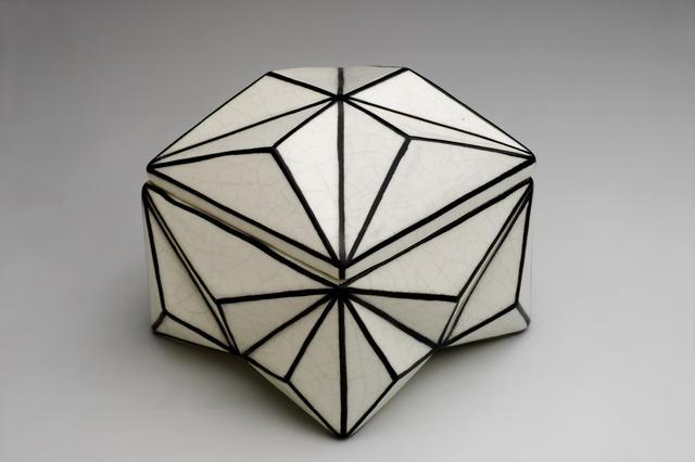 画像: パヴェル・ヤナーク 《クリスタル(結晶)型小物入れ》 1911年 チェコ国立プラハ工芸美術館蔵