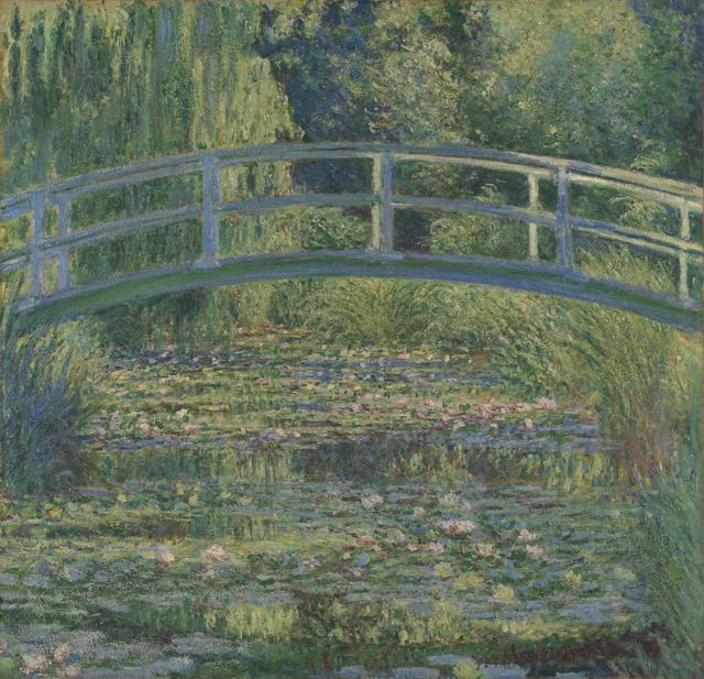 画像: クロード・モネ 《睡蓮の池》 1899年 油彩・カンヴァス 88.3×93.1cm ©The National Gallery, London. Bought, 1927