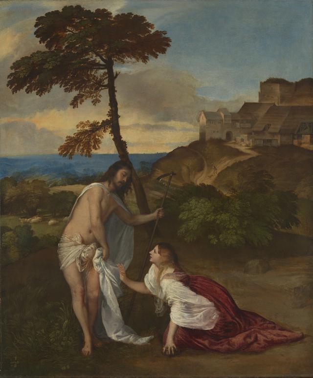 画像: ティツィアーノ・ヴェチェッリオ 《ノリ・メ・タンゲレ》 1514年頃 油彩・カンヴァス 110.5×91.9cm ©The National Gallery, London. Bequeathed by Samuel Rogers, 1856