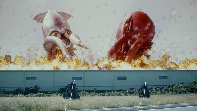 画像6: 予告❗️この怪獣、食べたらバカウマ!イカ・タコ・カニ怪獣で国立競技場を海鮮丼にせよ!バカ映画一直線の日本映画界の異端児・河崎実監督『三大怪獣グルメ』