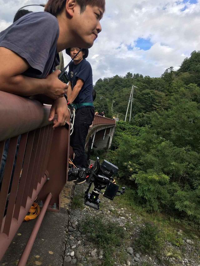 画像: 左から、監督:大山晃一郎、撮影:谷康生