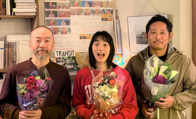 画像: 左から塚本晋也さん、 のんさん、 入江悠監督 © 2020 Office Hi-HO LLC.