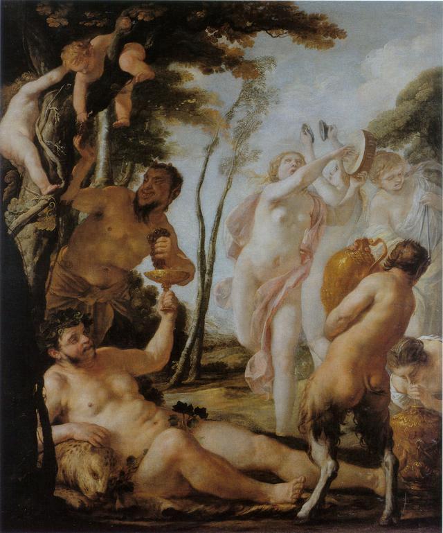 画像: ジャック・ブランシャール 《バッカナール》 1636年 油彩・カンヴァス、138×115 cm ナンシー美術館 © Ville de Nancy –P. Buren