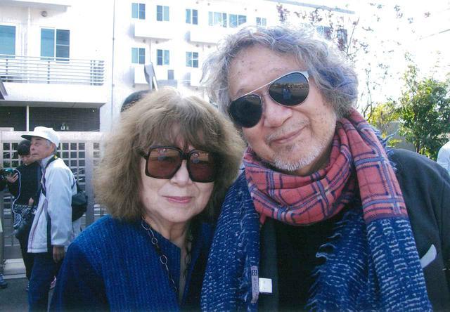 画像: 左より、大林恭子プロデューサーと大林宣彦監督