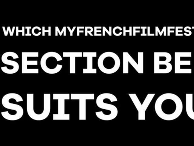 画像: MyFrenchFilmFestival STAY HOME Edition