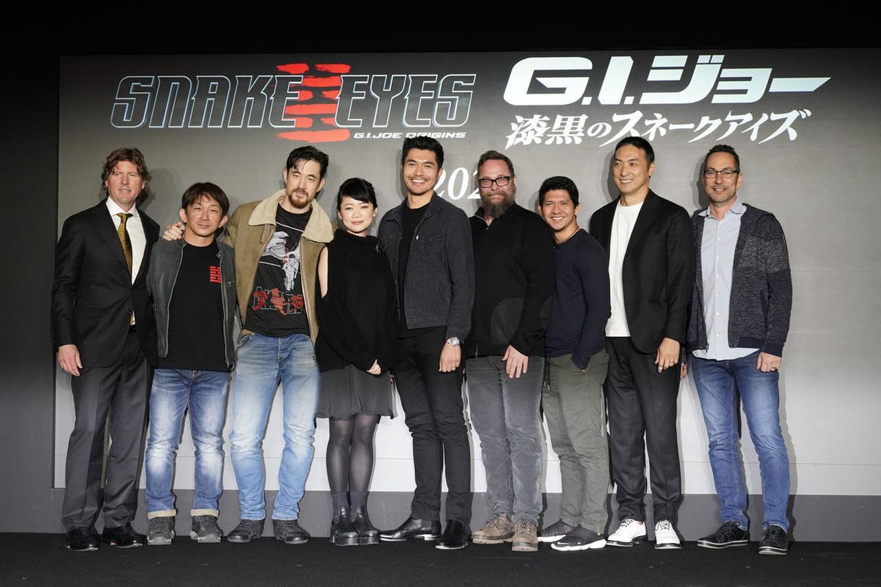 画像: 『G.I.ジョー:漆黒のスネークアイズ』日本撮影製作発表会