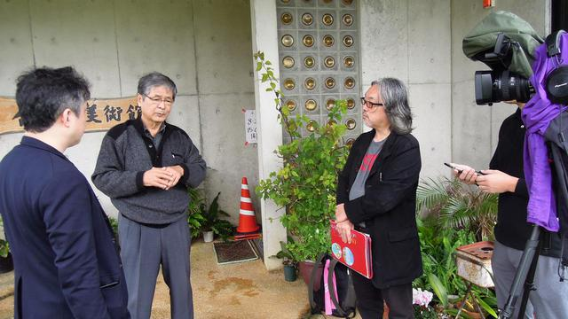 画像: 太田隆文監督インタビューのメイキング写真