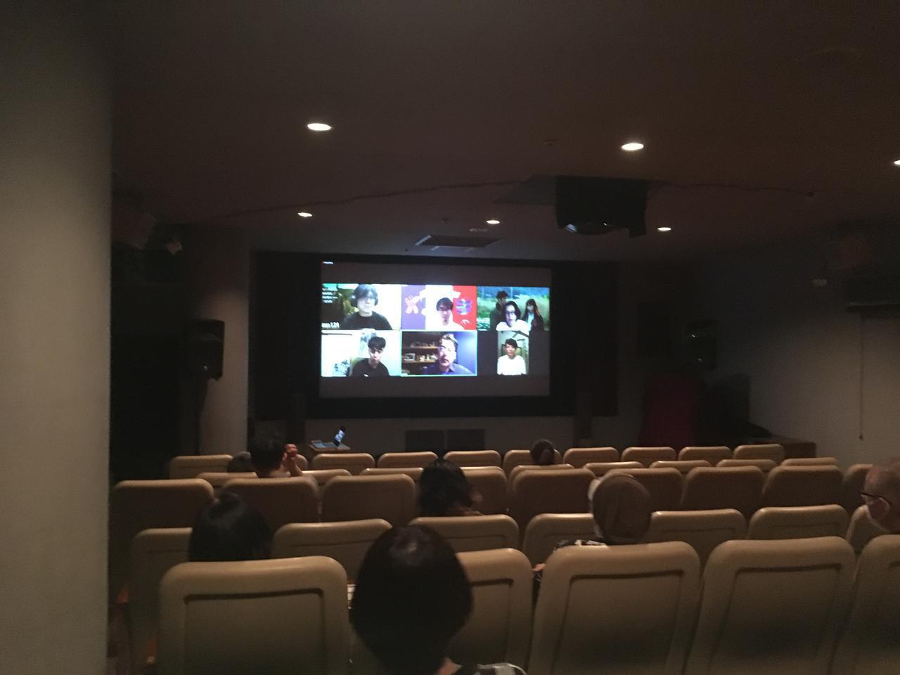 画像1: コロナ禍以降、初!?ミニシアター映画館で満席!!オンラインとリアルで実験的な試みで同時動員!諏訪敦彦監督『風の電話』