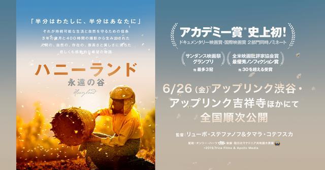 画像: 映画『ハニーランド 永遠の谷』公式サイト|6/26(金)アップリンク渋谷・アップリンク吉祥寺ほか全国順次公開
