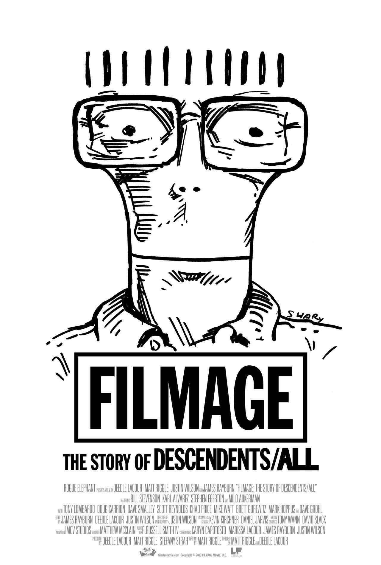 画像: 『FILMAGE:THE STORY OF DESCENDENTS/ALL』ポスター