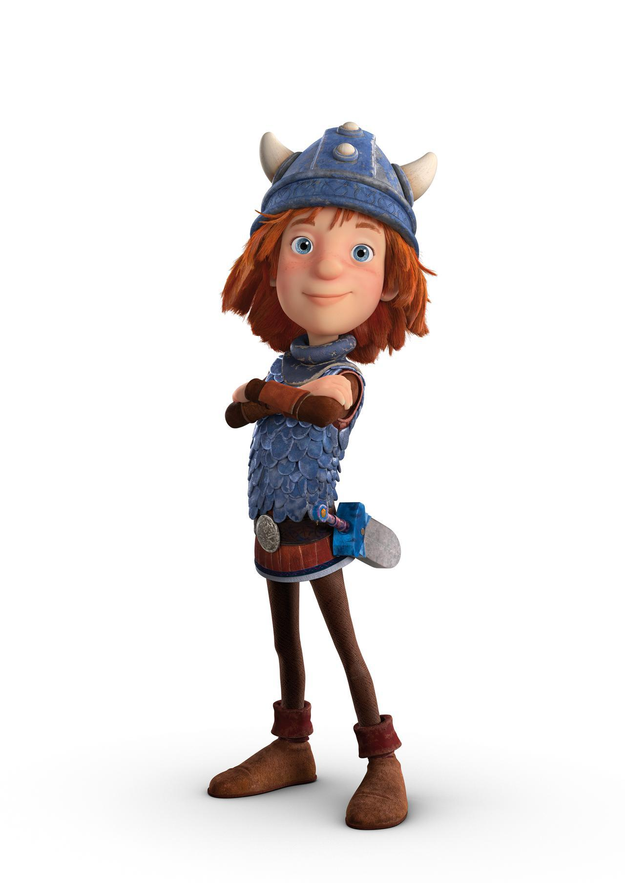 画像: 伊藤沙莉が演じるのは、勇敢な海賊の息子・ビッケ © 2019 Studio 100 Animation–Studio 100 Media GmbH–Belvision