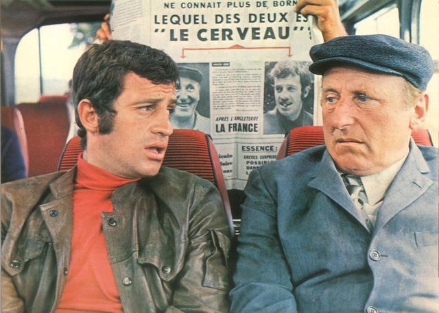 画像: LE CERVEAU a film by Gerard Oury © 1969 Gaumont (France) / Dino de Laurentiis Cinematografica (Italy)