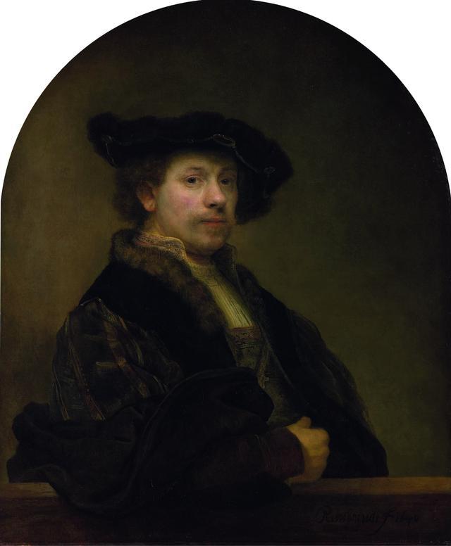 画像: レンブラント・ハルメンスゾーン・ファン・レイン 《34歳の自画像》 1640年 油彩・カンヴァス 91×75cm ©The National Gallery, London. Bought, 1861
