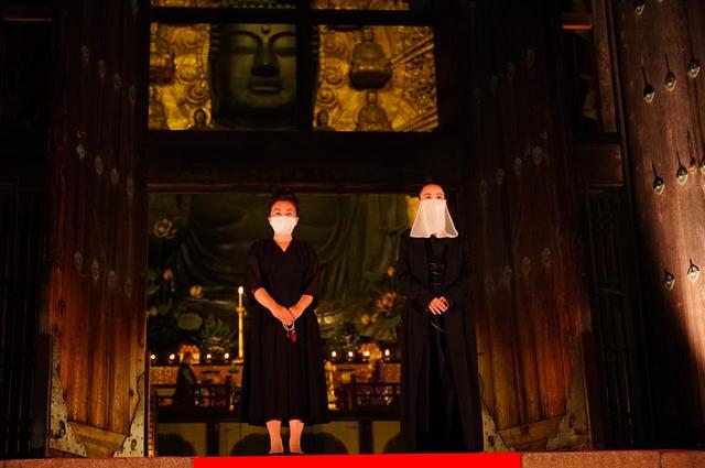 画像: 左: 中野聖子理事長、右: 河瀨直美エグゼクティブディレクター