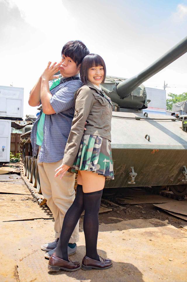 画像: 【61式戦車撮影シーン】