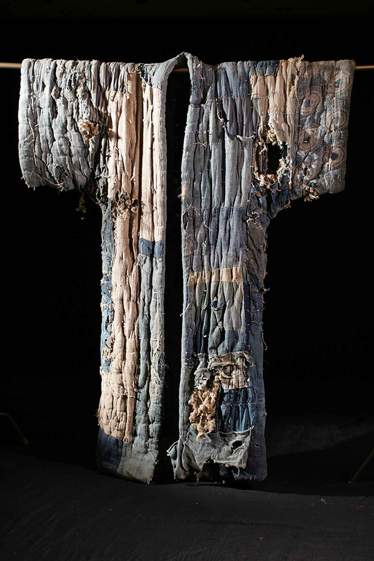 画像: どんじゃ 19~20 世紀 青森県南部民俗資料 アミューズミュージアム / 田中忠三郎コレクションAmuse Museum, Collection of Chuzaburo Tanaka