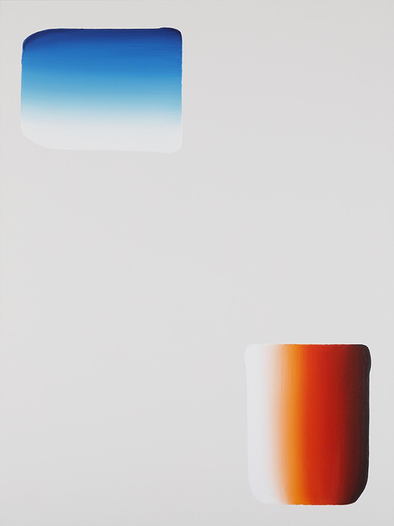 画像: 李禹煥《対話》2020年 アクリル絵具、キャンバス 291×218 cm
