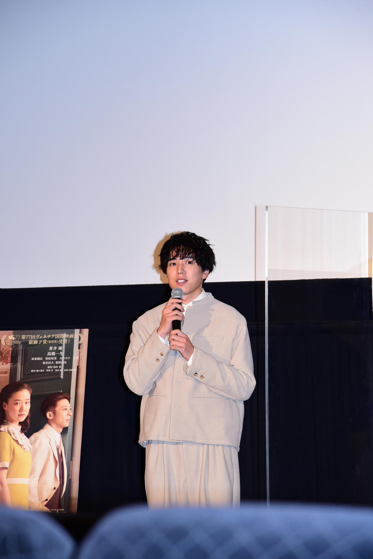 画像5: 「蒼井さんには華がある」「高橋さんは舌を巻くほど上手い!」黒沢監督が俳優陣を次々に大絶賛!『スパイの妻<劇場版>』舞台挨拶登壇レポート