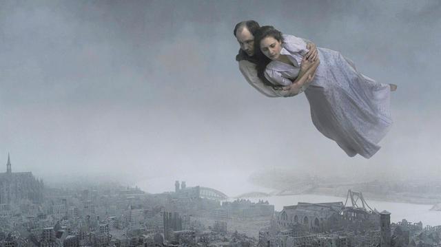 画像: 「街の上で」(1918年/油彩) マルク・シャガール MARC CHAGALL